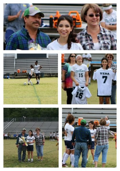 Senior soccer night