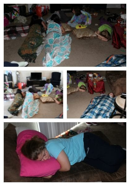 girls sleeping