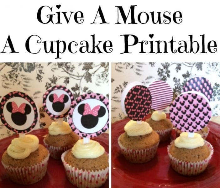 Give a Mouse A Cupcake Printable