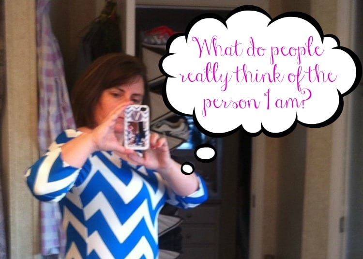 What Do People Really Think of the Person I am?