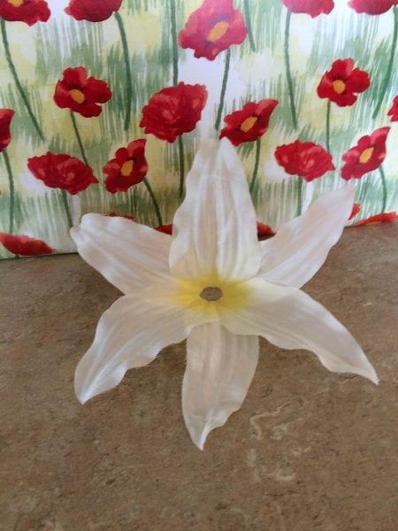 Lily wine glass