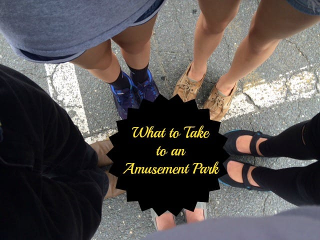 What to Take to An Amusement Park