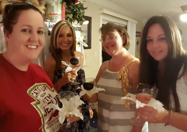 Unique Wine Glasses Make Ladies Night