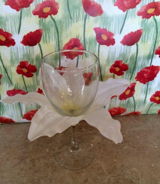 wine glass lily