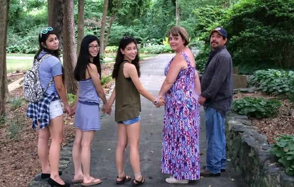 My family in tanger bicentennial gardens