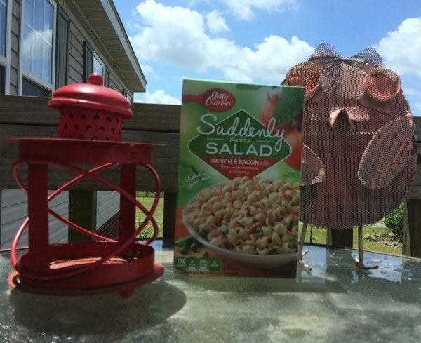 Summertime and pasta salad