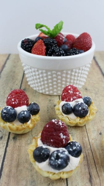 Patriotic Berry Tarts