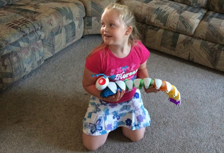 Sharing a Precious Girl's Experience with the Code-A-Pillar