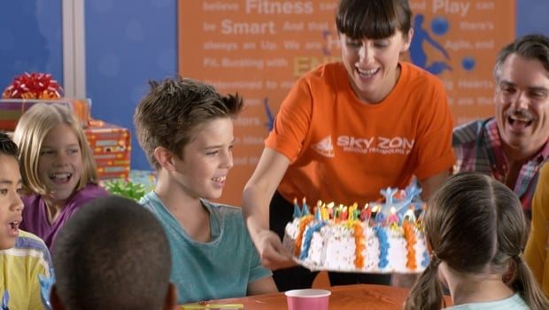 Have the Best Birthday Ever At Sky Zone