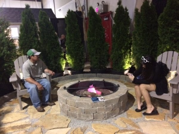 fire pit Southern Ideal Home Show