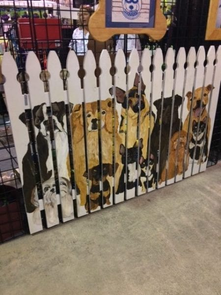 doggie picket fence Southern Ideal Home show