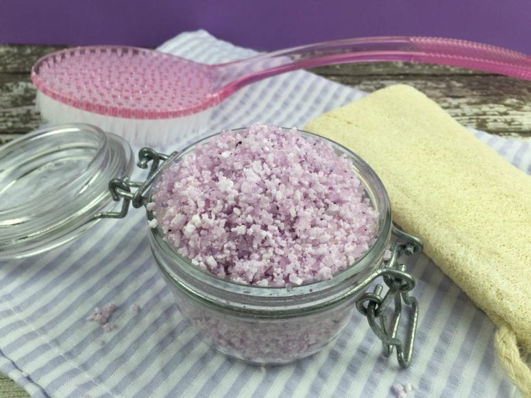 Make Your Own Lavender Bath Salts