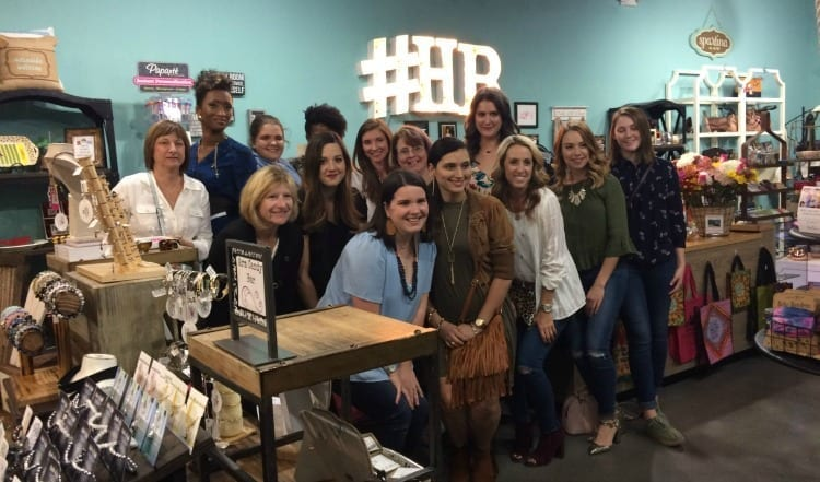 A Night of Shopping and Friendship at Halie's Boutique #trifabb