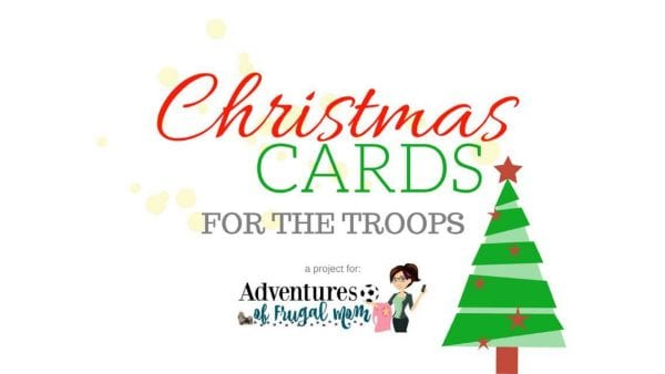 christmas cards for our troops