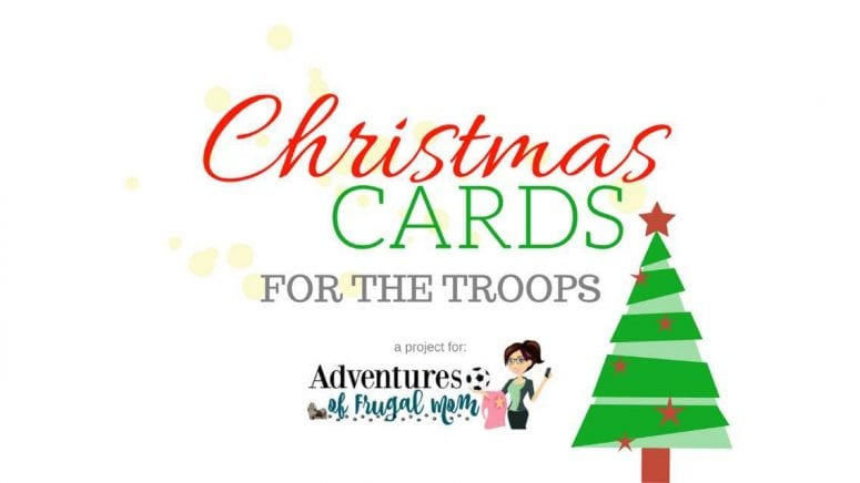 Christmas Cards For the Troops