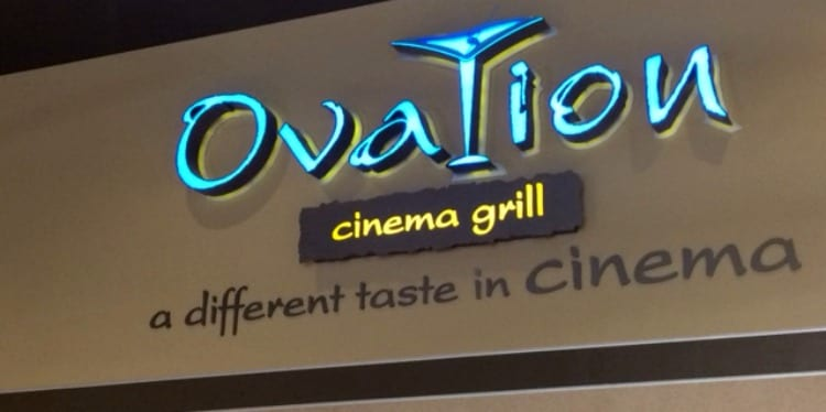 Ovation Cinema and Grill: Dinner and A Movie
