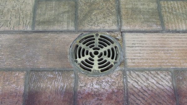 Blocked Floor Drain