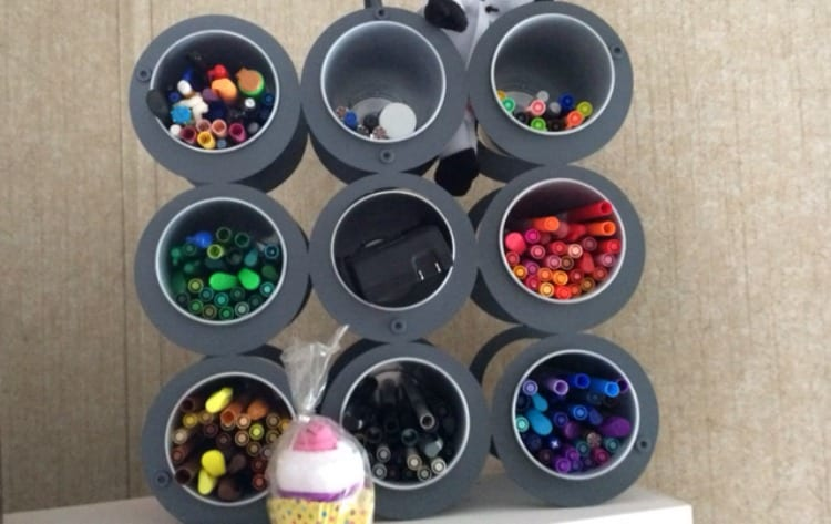 How to Organize Your Writing Supplies