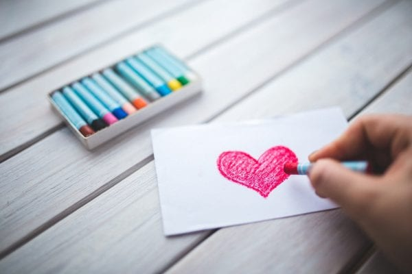 Love fueled with romantic letters