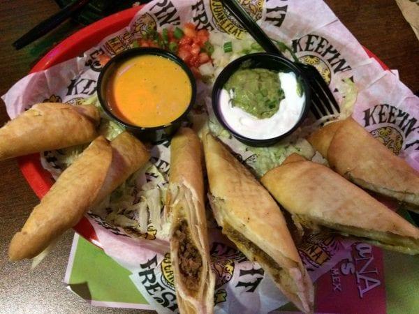Tijuana Flats Beef Flautas