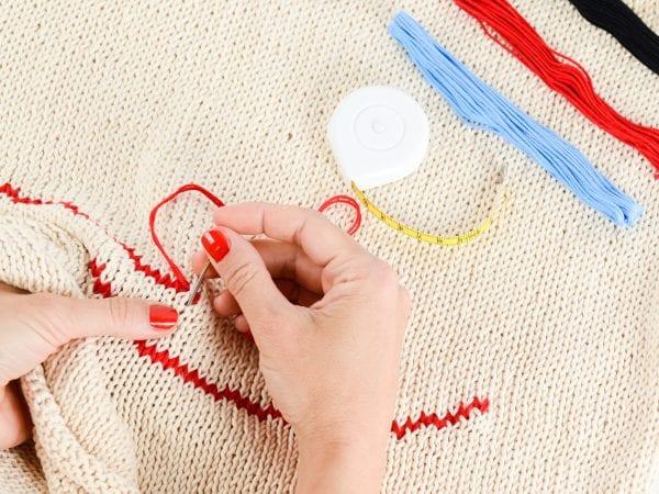 knitting brain