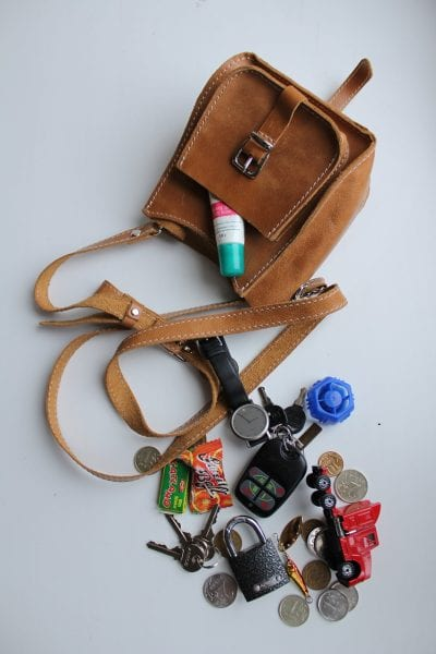 tiny handbag travel