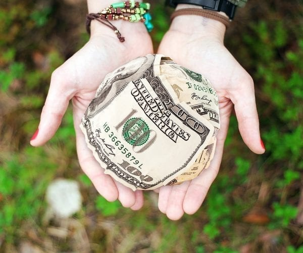 raising cash
