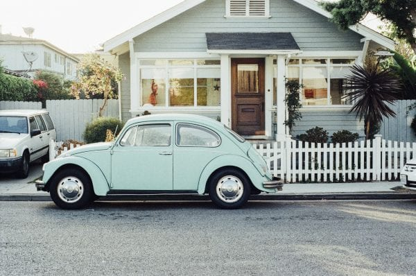First Car VW bug
