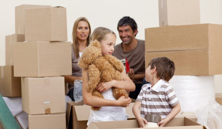 How to Help Children Deal with Moving