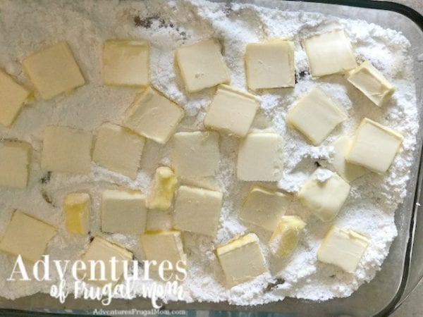 Butter and Margarine Apple Pie Cobbler