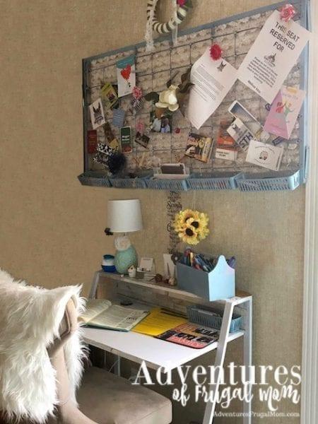 DIY Bible Journaling Desk