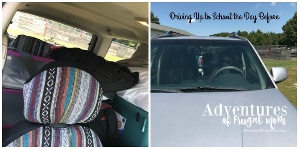 Mikaela leaving for college