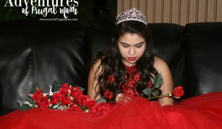 Gracie's Quinceañera: Roses From Her Court