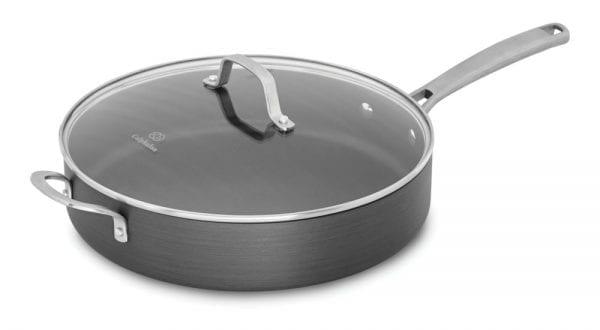 calphalon saute pan with cover spaghetti and meatballs