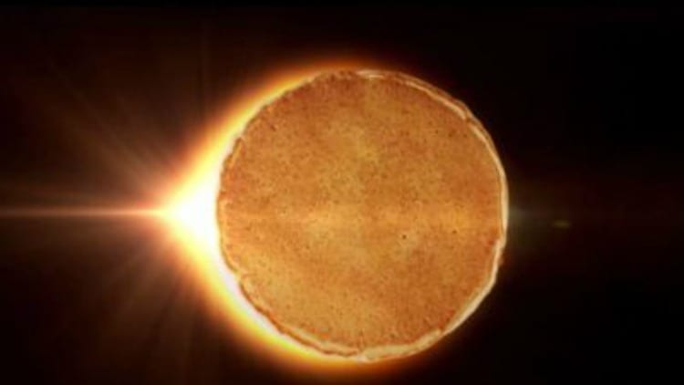 "DENNY'S Celebrates Solar Eclipse With $4 All You Can Eat ""MOONCAKES"""