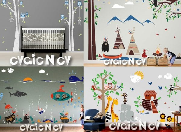 Evgie Wall Decal 2