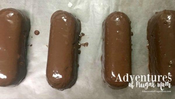 Yummy Halloween Treat Ideas - Bat Twinkies by North Carolina foodie blogger Adventures of Frugal Mom