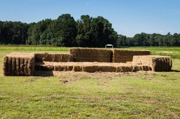 hayjump fall activities - Fun Fall Activities at Odom Farming by North Carolina lifestyle blogger Adventures of Frugal Mom