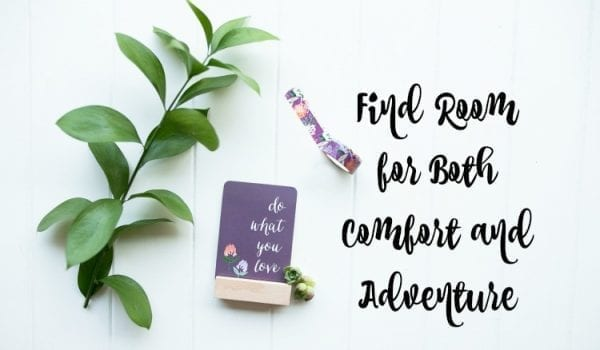 Find Room for Both Comfort and Adventure by North Carolina Lifestyle Blogger Adventures of Frugal Mom