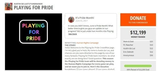 Playing for Pride: Supporting the LGBTQ Community by popular North Carolina blogger Adventures of Frugal Mom