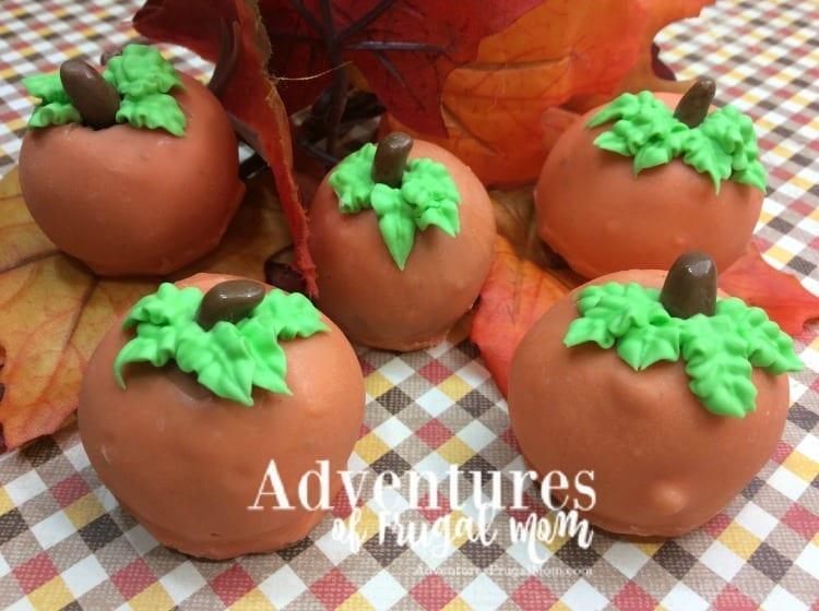 Pumpkin Hot Chocolate Truffles Recipe