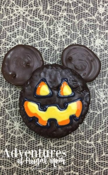Yummy Halloween Ding Dong Recipe by North Carolina foodie blogger Adventures of Frugal Mom