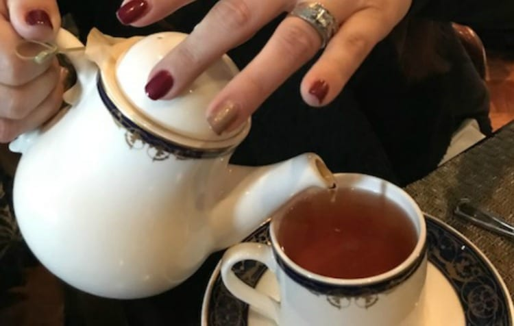Sipping Afternoon Tea at the Washington Duke Inn