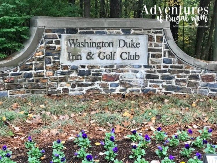 True Southern Hospitality at The Washington Duke Inn & Golf Club