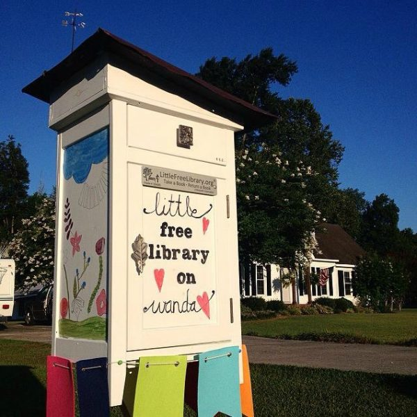 Giving Back Little Free Library