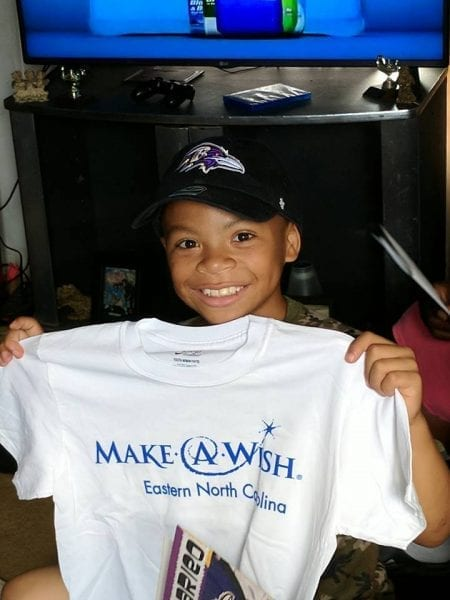 Giving Back Make A Wish Eastern North Carolina
