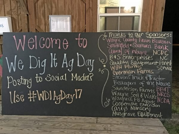 Giving Back We Dig It Ag Day by North Carolina Lifestyle Blogger Adventures of Frugal Mom