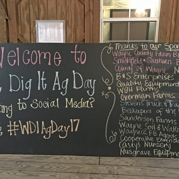 Giving Back We Dig It Ag Day