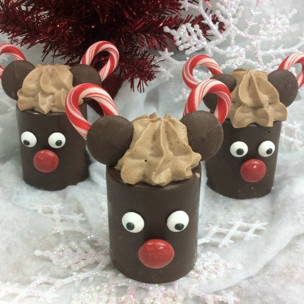 Mickey Mousse Cups Recipe