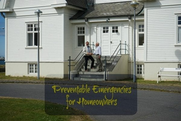Preventable Emergencies for Homeowners from North Carolina Lifestyle Blogger Adventures of Frugal Mom